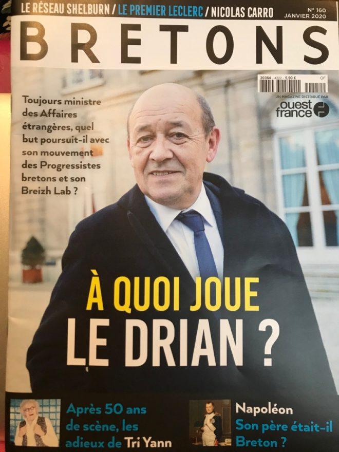 La Une de Bretons Janvier 2020